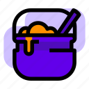 brew, cauldron, halloween, potion icon