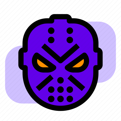 friday, halloween, jason, mask icon