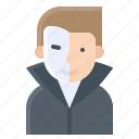 face mask, halloween, mask, phantom, phantom of the opera