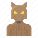 beastman, man, werewolf, wolf, wolfman