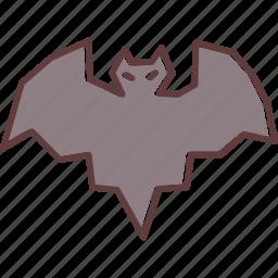 bat, halloween, horror, scary, spooky icon