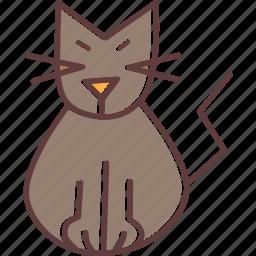 cat, evil, feline, kitten, kitty, purr, spooky icon