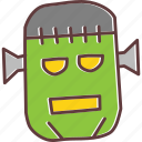 character, frankenstein, halloween, horror, monster, zombie, scary