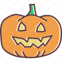 evil, face, halloween, jack-o-lantern, pumpkin, scary, spooky icon