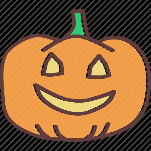 evil, face, halloween, jack-o-lantern, pumpkin, scary, spooky icon