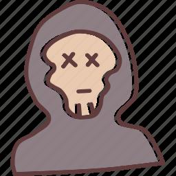 apocalypse, dead, ghost, monster, skeleton, skull, zombie icon