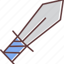 sword, weapon icon