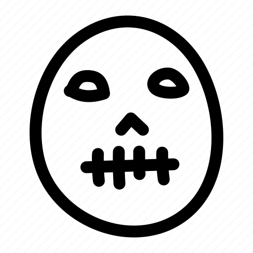 evil, halloween, horror, mask, scary, spooky icon
