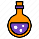 bottle, halloween, poison, toxic, witch