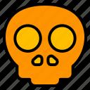 danger, death, halloween, skeleton, skull