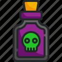 posion, venom, dead, skeleton, halloween