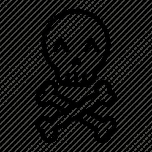bones, emoji, halloween, halloween emoji, pirate, skull, skull emoji icon