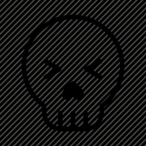 emoji, halloween, halloween emoji, pirate, skull, skull emoji, sugar skull icon