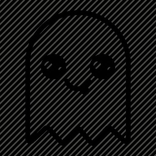 Emoji, emoticon, ghost, ghost emoji, halloween, halloween emoji ...