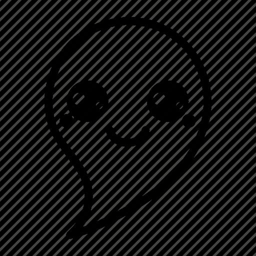emoji, emoticon, ghost, ghost emoji, halloween, halloween emoji, spook icon