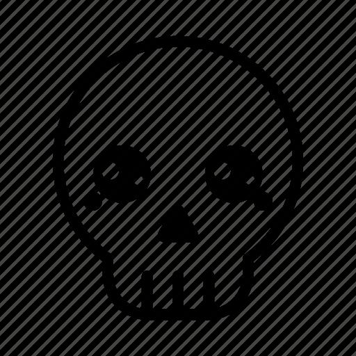 emoji, halloween, halloween emoji, horror, pirate, skull, skull emoji icon