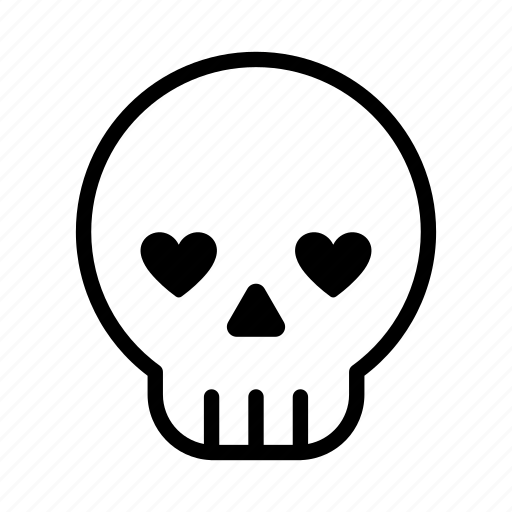 emoji, halloween, halloween emoji, love, pirate, skull, skull emoji icon