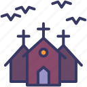 house, horror, halloween, haunted, mansion, bats, night