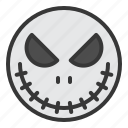 halloween, horror, mask, monster, scary, spooky icon