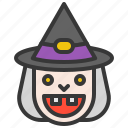character, halloween, horror, monster, scary, spooky, witch