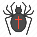 halloween, horror, insect, scary, spider, spooky icon