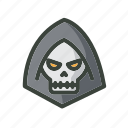 festival, ghost, halloween, holiday, skull icon