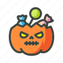 candy, festival, halloween, holiday, jack-o, pumkins icon