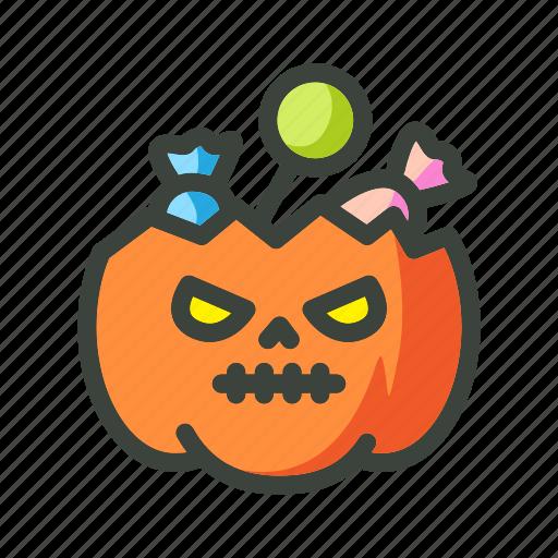 candy, festival, halloween, holiday, jack-o, pumkins icon
