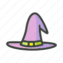 festival, halloween, hat, holiday, horror, scary icon