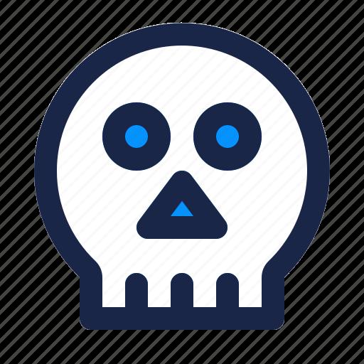 bone, danger, dead, death, halloween, scary, skeleton icon