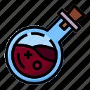 bottle, chemistry, flask, halloween, liquid, poison, potion