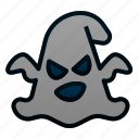 book, ghost, halloween, horror, scary, spooky icon