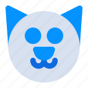 animal, cat, halloween, holiday, kitty, pet, smile icon