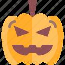creepy, ghost, halloween, horror, pumpkin, scary, spooky icon