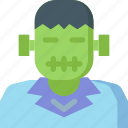 frankenstein, ghost, halloween, horror, monster, scary, spooky icon