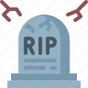 graveyard, halloween, rest in peace, rip icon