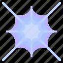 trap, insect, halloween, web, snare, spider, cobweb icon