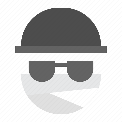 character, halloween, horror, invisible man, monster, scary, spooky icon