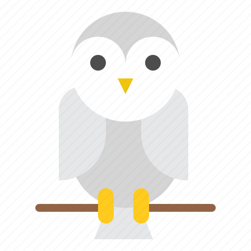 barn owl, bird, halloween, horror, scary, spooky icon