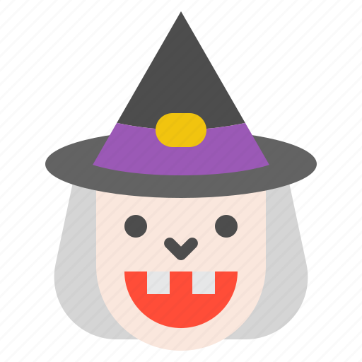 character, halloween, horror, monster, scary, spooky, witch icon