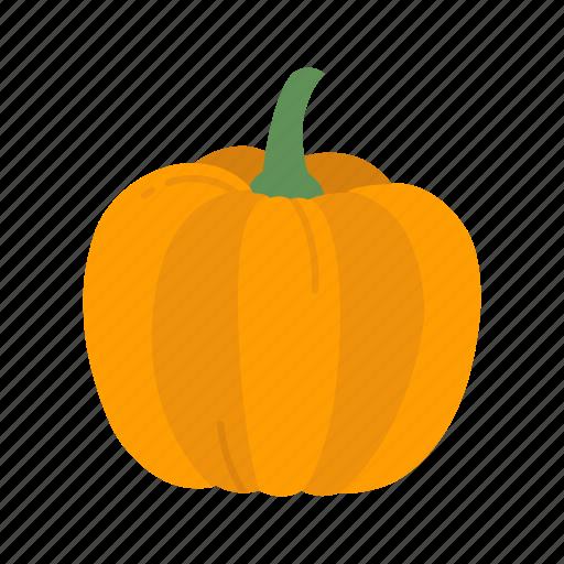halloween, holidays, horror, jack - o'- lantern, pumpkin, spooky, vegetable icon