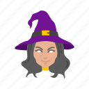 enchantress, halloween, holidays, horror, sorceress, spooky, witch icon