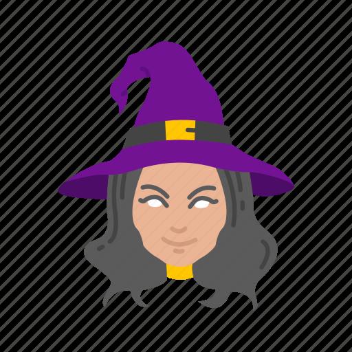 enchantress, halloween, holidays, horror, sorceress, spooky, witch icon