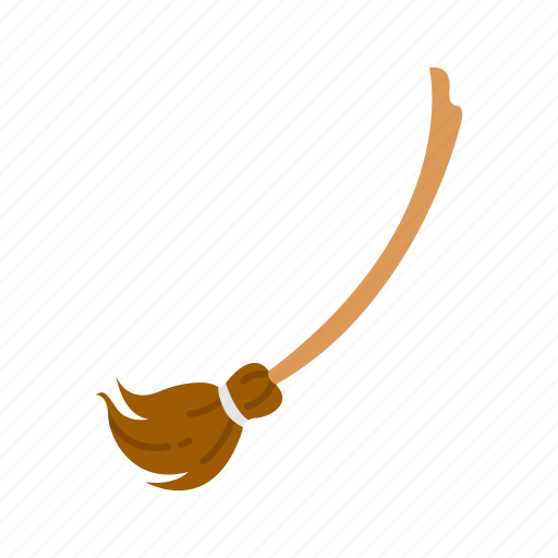 broom, broom stick, halloween, holidays, horror, spooky, witch icon