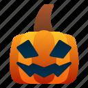 emoticon, halloween, jack o' lantern, pumpkin, scary, spooky