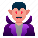 avatar, costume, dracula, halloween, horror, scary, vampire