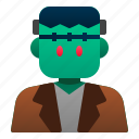 avatar, costume, frankenstein, halloween, horror, scary, spooky