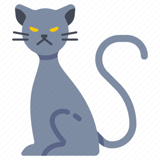animal, cat, ghost, halloween, mysterious, superstition, witchcraft icon