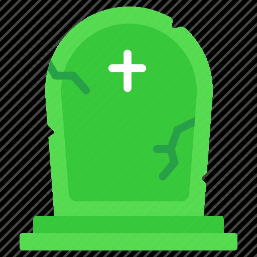 cemetery, grave, gravestone, graveyard, halloween, tombstone icon