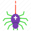 scary, spooky, halloween, spider, creepy, arachnid, fear icon